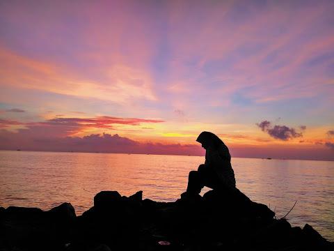 Palu Kuning Underrated Beach Banyuwangi Sebelum Matahari Muncul Pantai Kab