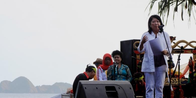 Pariwisata Menteri Ekonomi Kreatif Menparekraf Mari Elka Pangestu Membuka Pulau