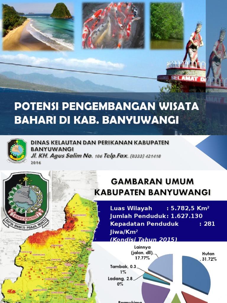 Potensi Pengembangan Wisata Bahari Kab Banyuwangi Jawa Timur Pantai Palu