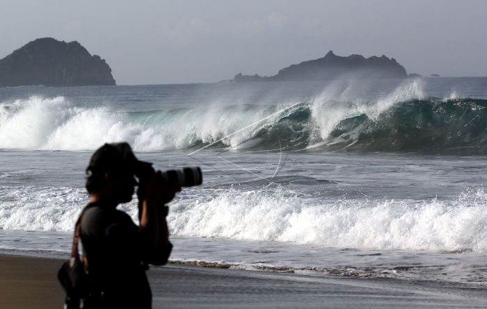 Pantai Sukamade Banyuwangi Antara Foto Kab