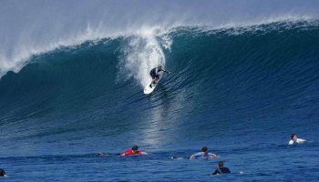 Teluk Hijau Banyuwangi Eksotis Surga Tersembunyi Land Surganya Surfers Dunia