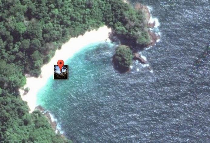 Eksotisnya Wisata Pantai Teluk Hijau Blog Anak Nelayan Foto Satelit
