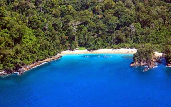 Green Bay Teluk Hijau Beach Banyuwangi Bromo Java Travel Pantai
