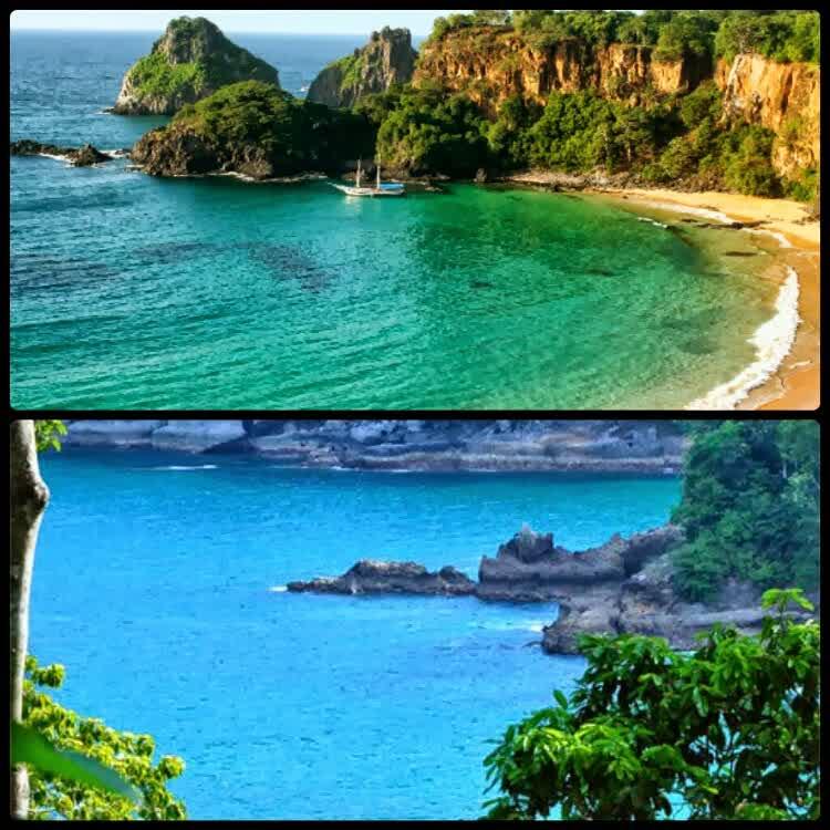 Menapaki Teluk Hijau Banyuwangi Enoardianty10 Praia Sancho Brazil Ijo Pantai