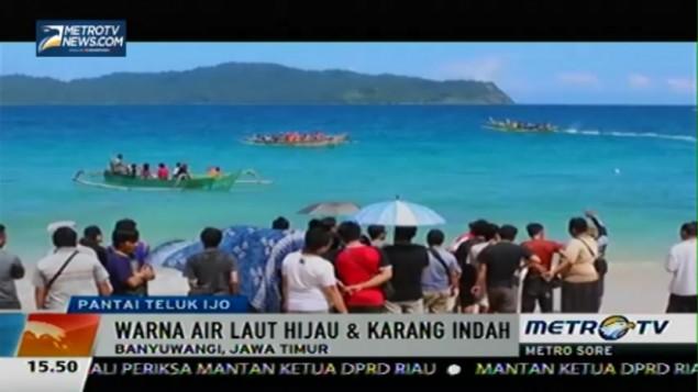 Metro News Yuk Wisata Pantai Teluk Ijo Banyuwangi Hijau Kab