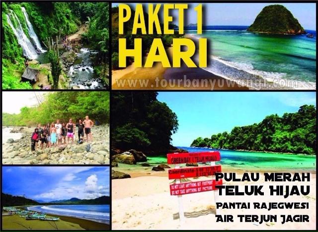Paket Wisata Pulau Merah Teluk Hijau Banyuwangi Pantai Kab