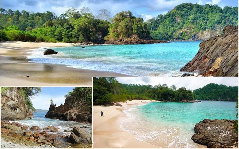 Pantai Teluk Hijau Surga Tersembunyi Ujung Pulau Jawa Wajib Masuk