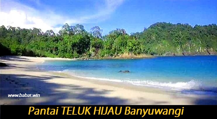 Pantai Teluk Hijau Tempat Wisata Banyuwangi Wajib Kunjungi Sebuah Kabupaten