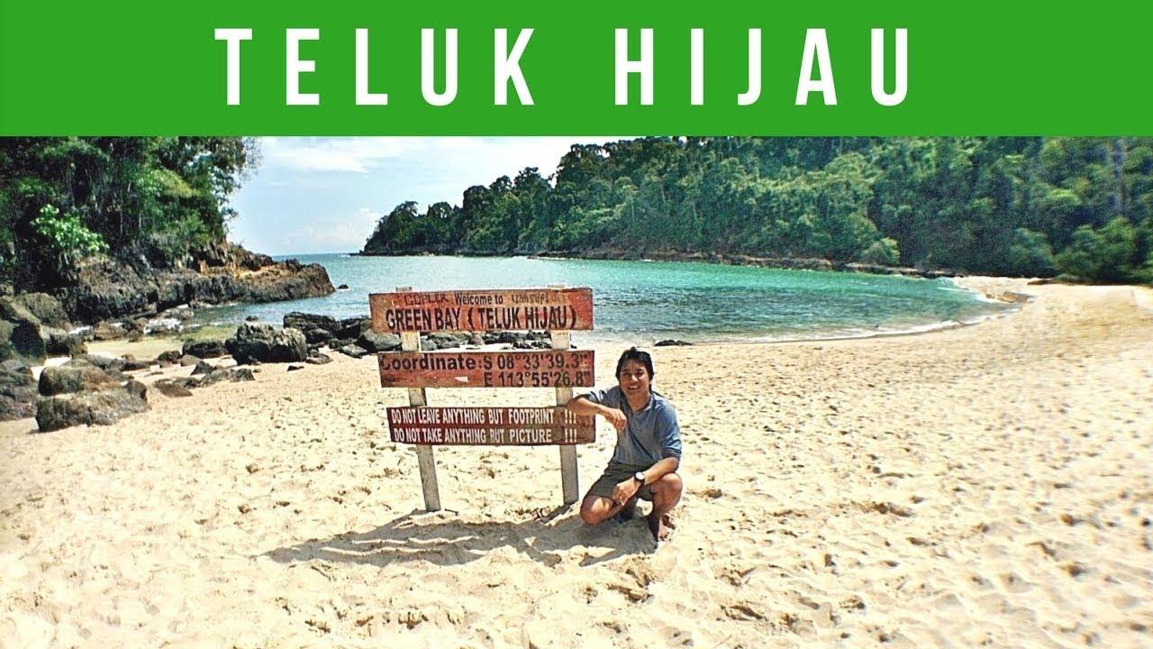 Perjalanan Teluk Hijau Banyuwangi Youtube Pantai Kab