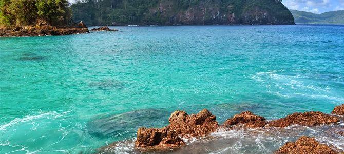 Pesona Keindahan Pantai Perawan Teluk Hijau Banyuwangi Kab