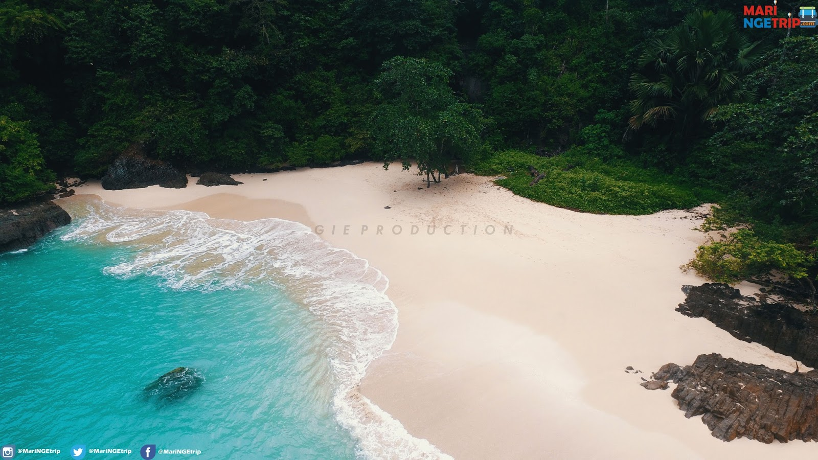 Pesona Keindahan Teluk Hijau Banyuwangi Wisata Indonesia Pantai Mari Ngetrip