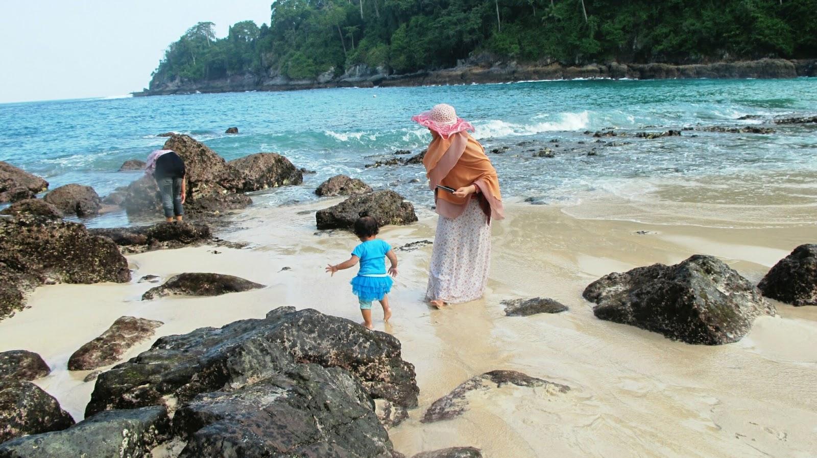 Tracking Teluk Hijau Green Bay Pantai Batu Banyuwangi Ijo Beautiful