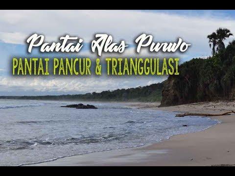 Indahnya Pantai Trianggulasi Pancur Alas Purwo Youtube Kab Banyuwangi