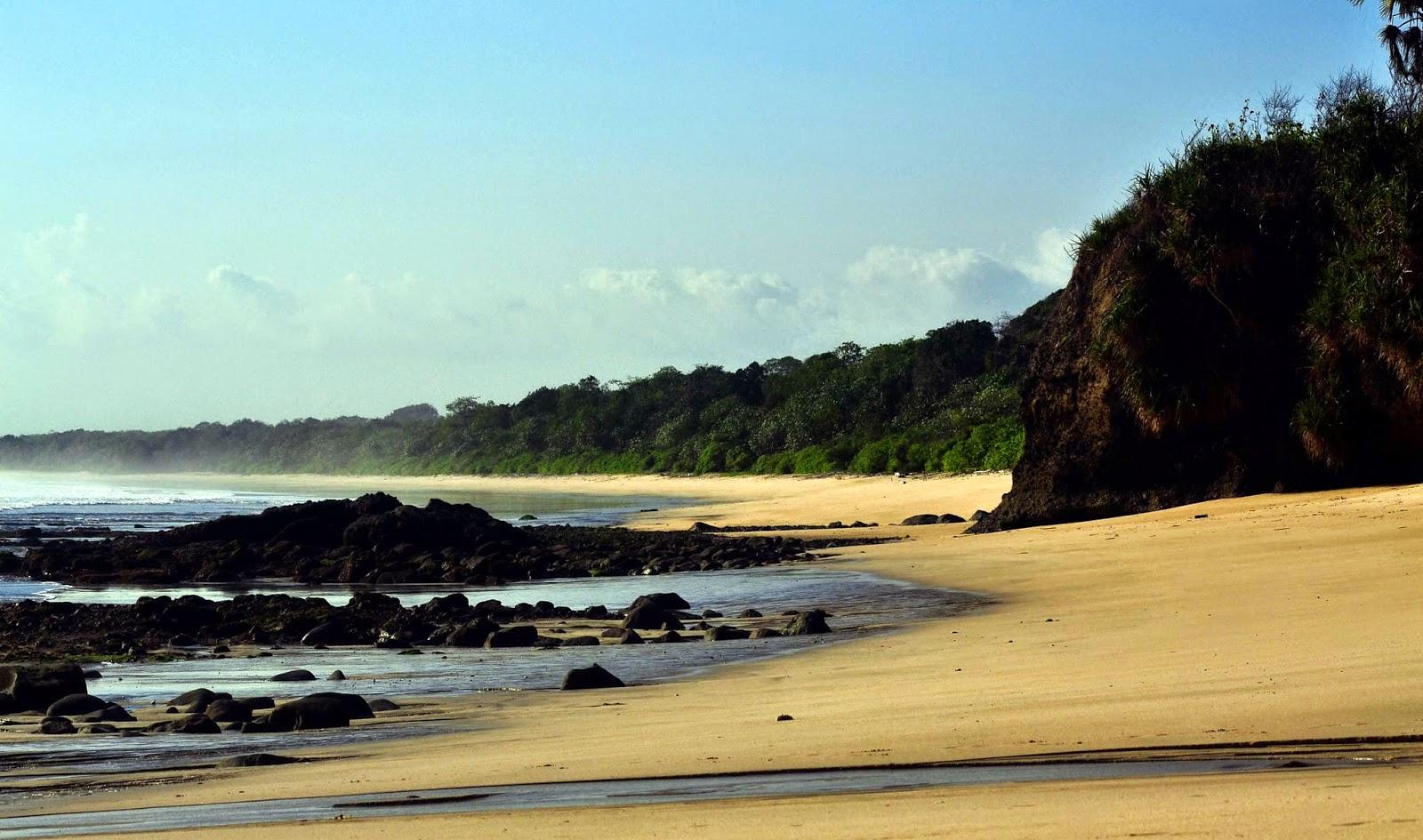 Keindahan Alam Ujung Timur Pulau Jawa October 2014 Pantai Trianggulasi