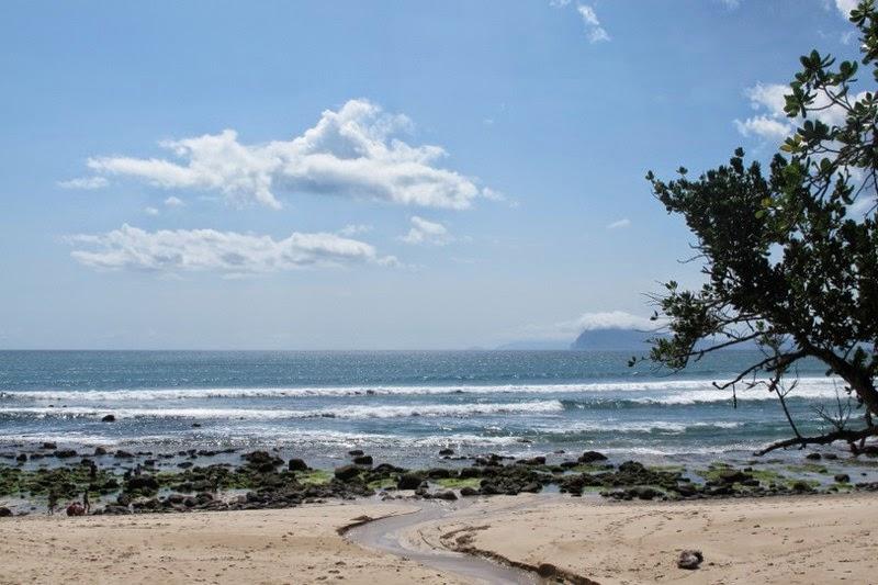 Pantai Pancur Taman Nasional Alas Purwo Banyuwangi Bagus Sungai Air