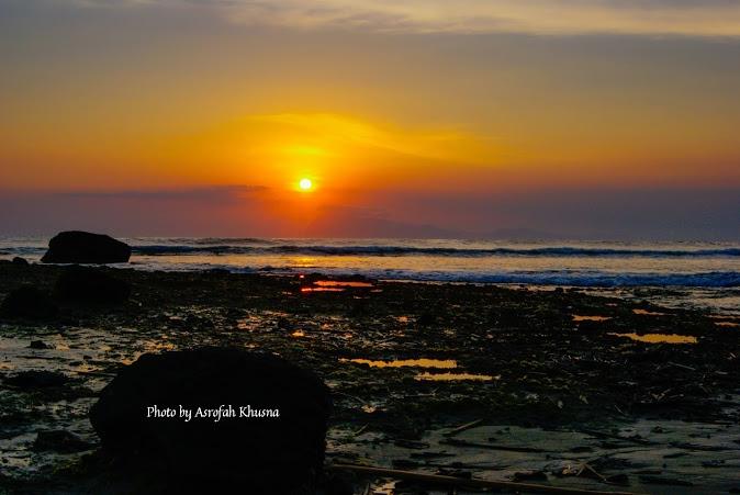 Pantai Pancur Taman Nasional Alas Purwo Banyuwangi Top Sunset Pacur