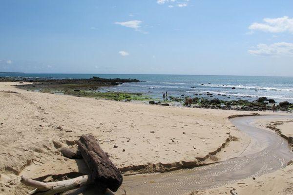 Sunrise Java Januari 2014 Pantai Pancur Berada Taman Nasional Alas