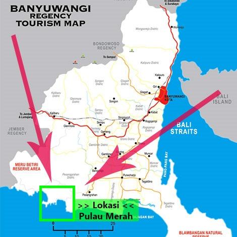 Akses Pulau Merah Banyuwangi Jawa Timur Wisata Tour Surabaya Kab