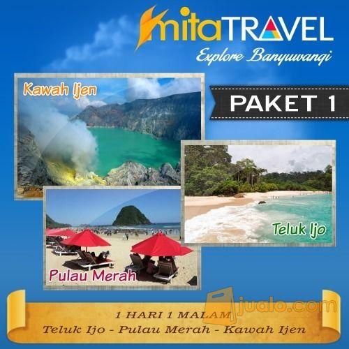 Paket Tour Wisata Kawah Ijen Pulau Merah Teluk Ijo Banyuwangi