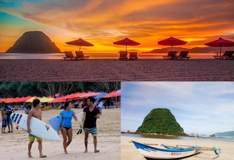 Pantai Pulau Merah Red Island Banyuwangi Paket Wisata Kab