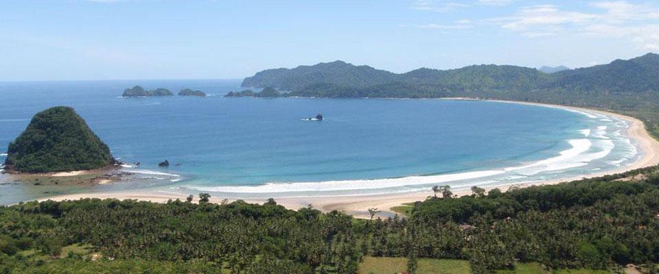 Pesona Pantai Pulau Merah Banyuwangi Bagus Indahnya Kab