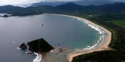 Pesona Pantai Pulau Merah Banyuwangi Bagus Wisata Kab