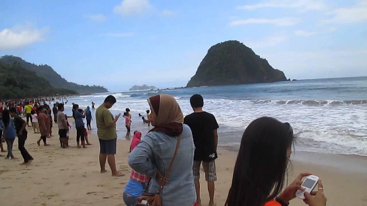 Pesona Pantai Pulau Merah Banyuwangi Youtube Kab