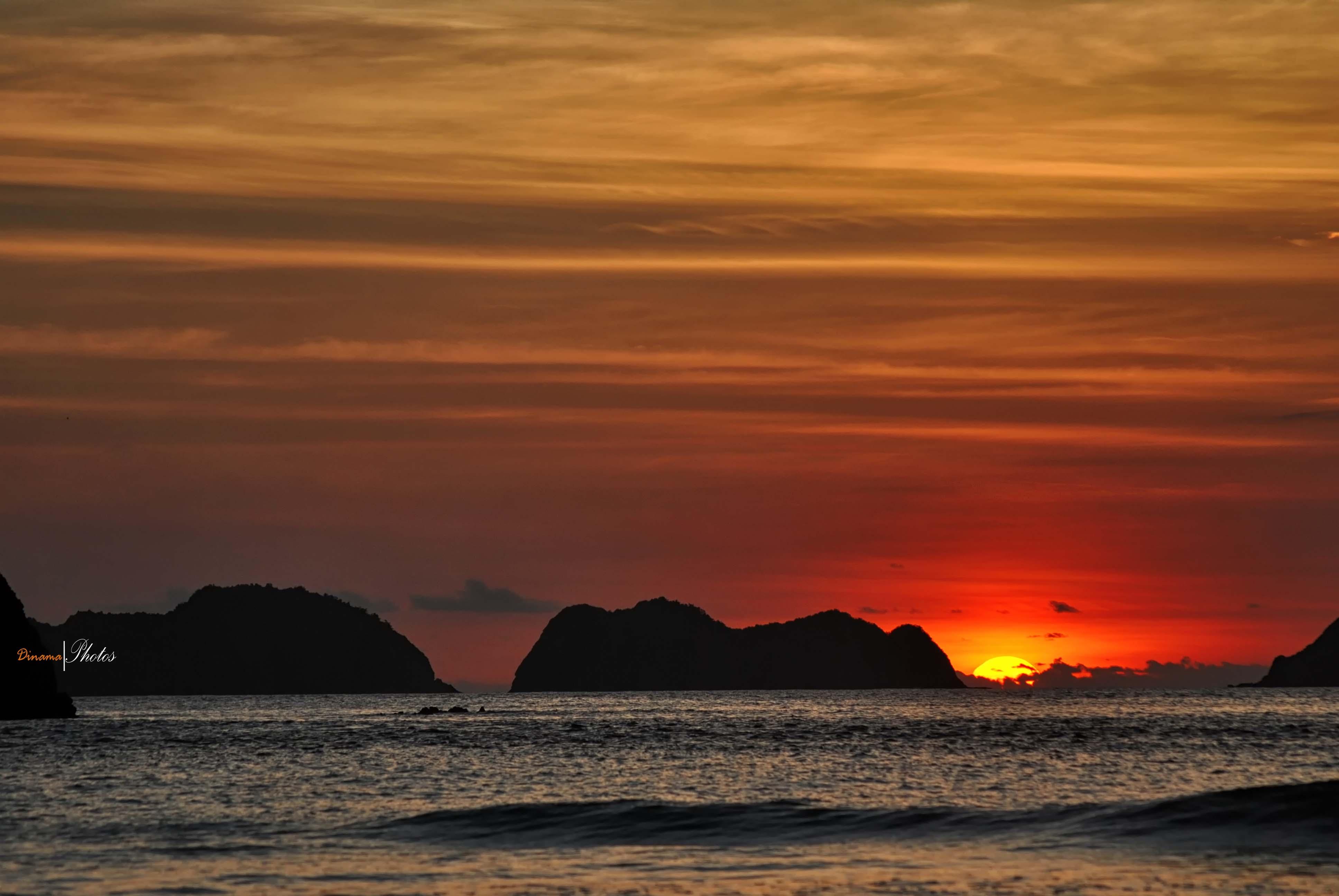 Pulau Merah Sunset Banyuwangi Wisata Dsc 0020 Kab