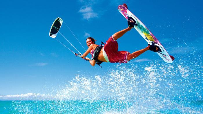 Banyuwangi Gelar Kite Surfing Pulau Tabuhan Tribun Bali Kab