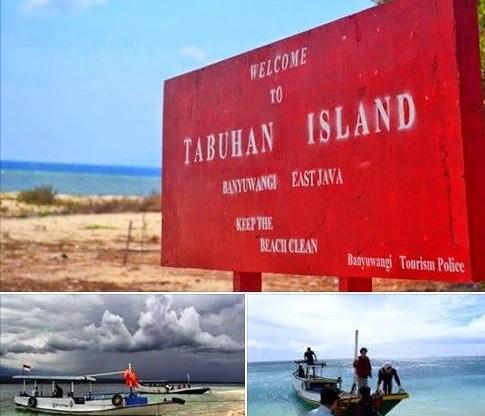 Berselancar Pulau Tabuhan Banyuwangi Surgawisata Island Kab