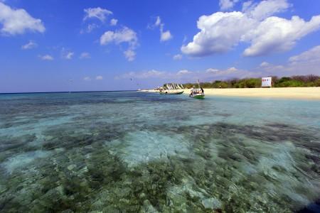 Destinasi Wisata Laut Pulau Tabuhan Banyuwangi Jawa Timur Berita Daerah