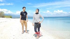Honeymoon Nessi Jakarta Banyuwangi Tour Paket Tabuhan Island Tempat Wisata