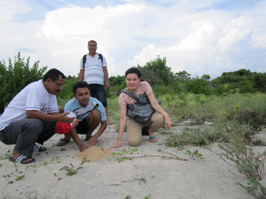 Ikhwan Arief Pulau Tabuhan Hampir Sebulan Liburan Sekolah Penuh Berada