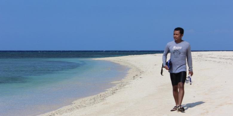 Kite Windsurfing Pulau Tabuhan Banyuwangi Diikuti 13 Negara Jawa Timur