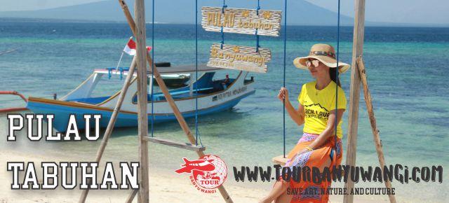 Wisata Pulau Tabuhan Banyuwangi Eksotis Paket Kab