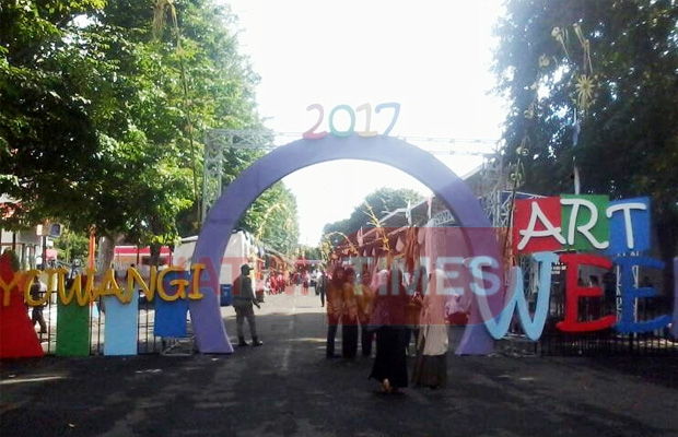 Banyuwangi Festival Art Week 2017 Digelar Times Artweek Kuliner Dinas