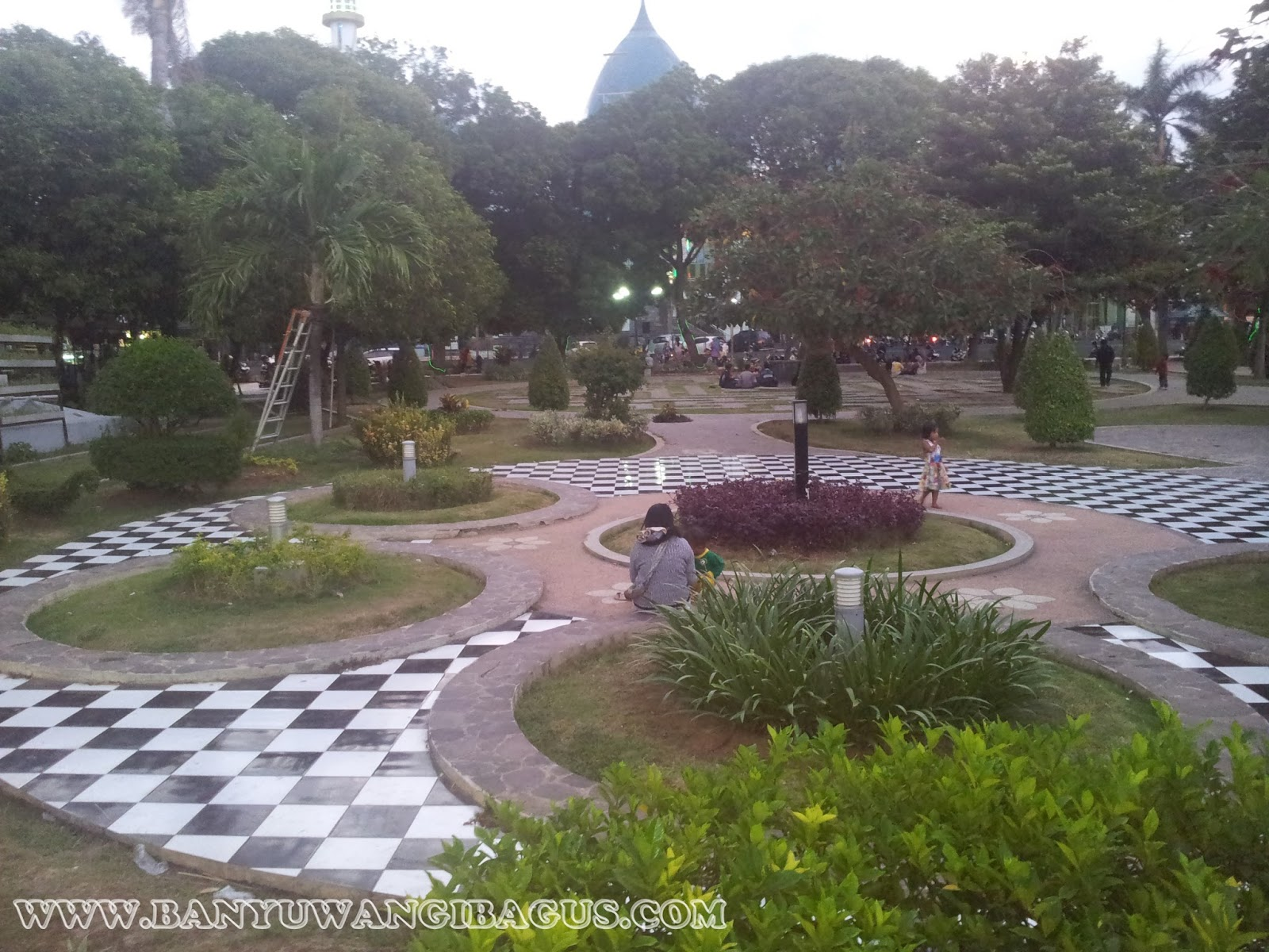 Cantiknya Taman Sri Tanjung Banyuwangi Bagus Sritanjung Kabupaten Blambangan Kab