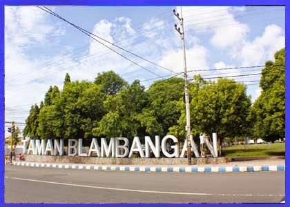 Taman Blambangan Alun Kota Banyuwangi Wisata Area Blog Kab