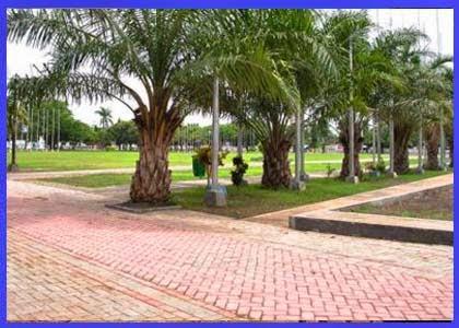 Taman Blambangan Alun Kota Banyuwangi Wisata Area Blog Lintasan Lari