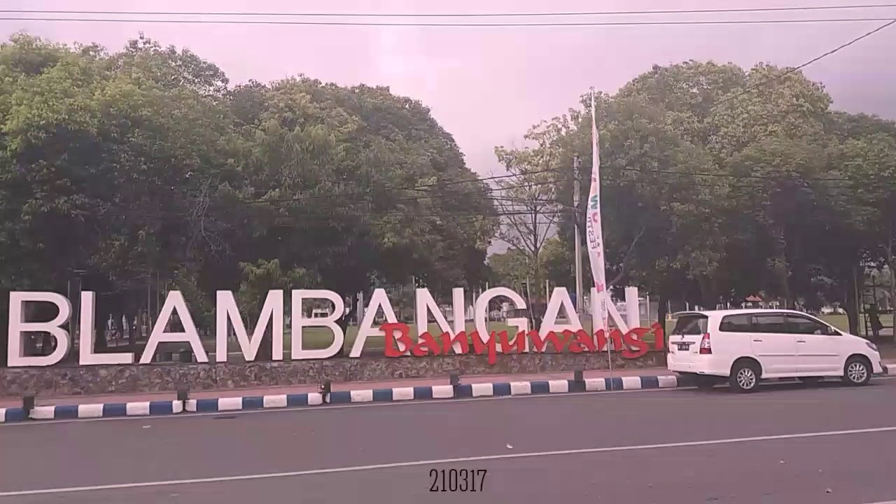 Taman Blambangan Banyuwangi Jatim Youtube Kab