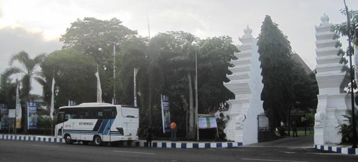 Taman Blambangan Masjid Agung Banyuwangi Alam Kab