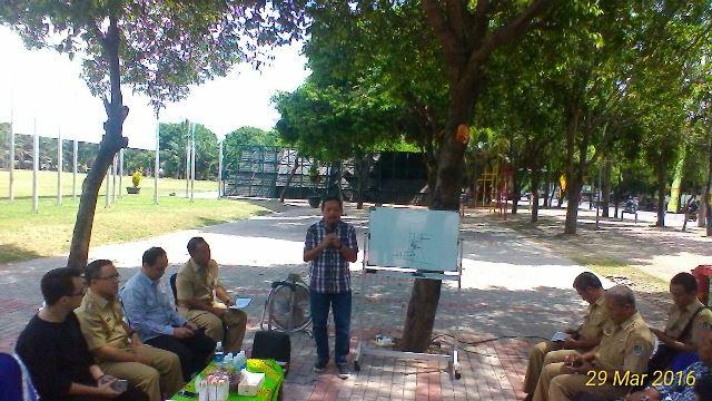 Taman Blambangan Revitalisasi Infobanyuwangi Kabar Rencana Pembangunan Dipaparkan Oleh Arsitek