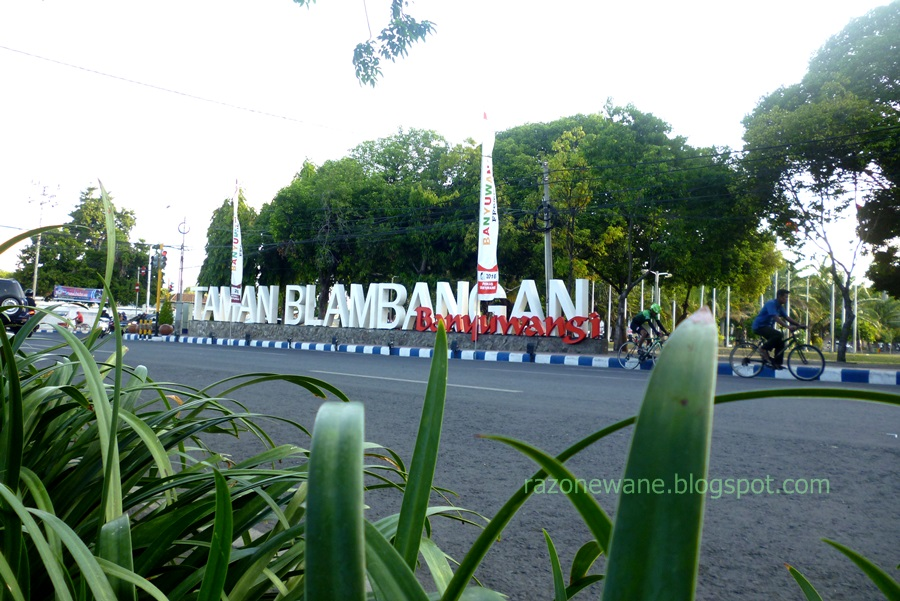 Taman Blambangan Sritanjung Kota Banyuwangi Merakyat Berikut Video Pantai Dermaga