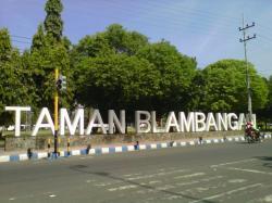 Taman Blambangan Steril Kampanye Surya Kab Banyuwangi