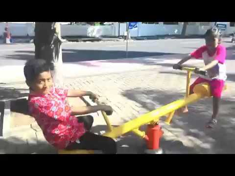 Wahana Mainan Taman Blambangan Banyuwangi Makin Kab