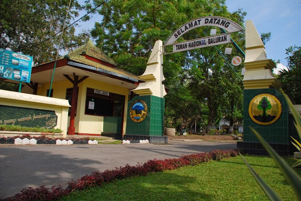 Banyuwangi Bagian 9 Taman Nasional Baluran Situbondo Pintu Masuk Sumber