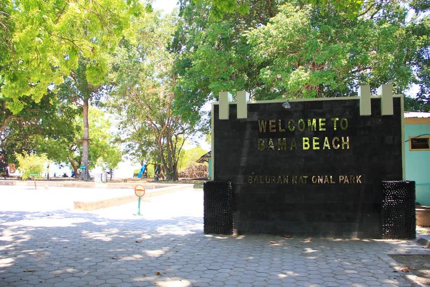 Pantai Bama Eksotik Balik Taman Nasional Baluran Banyuwangi Situbondo Km
