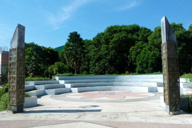 Banyuwangi Merdeka Foto Suasana Rindang Taman Sritanjung Reporter Suci Rachmaningtyas