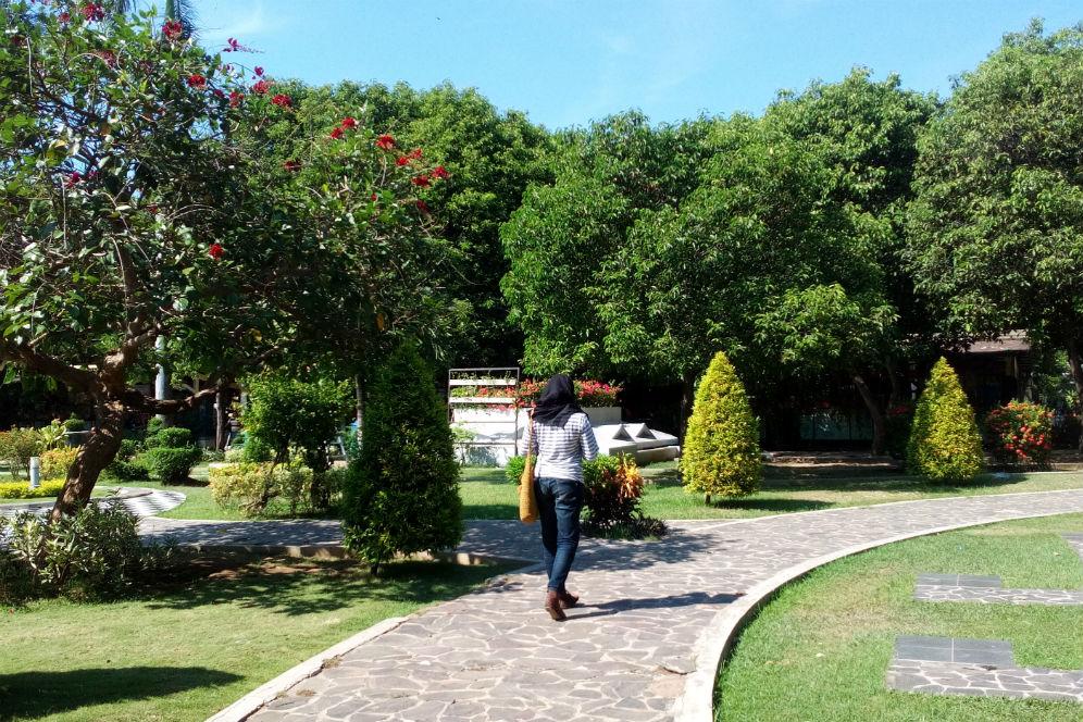 Banyuwangi Merdeka Foto Suasana Rindang Taman Sritanjung Sri Tanjung Era