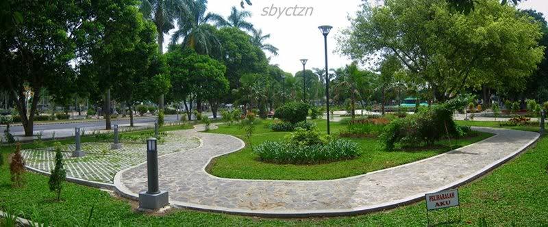 Cantiknya Taman Sri Tanjung Banyuwangi Bagus Jalan Setapak Sritanjung Pas